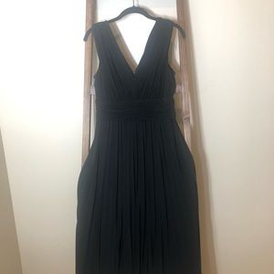 Suzy Chin for Maggy Boutique Black Dress -sz 10